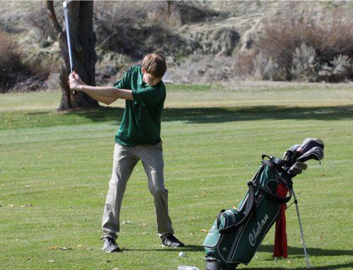 CHS Golf Coach is Happy With Chelan's Progress