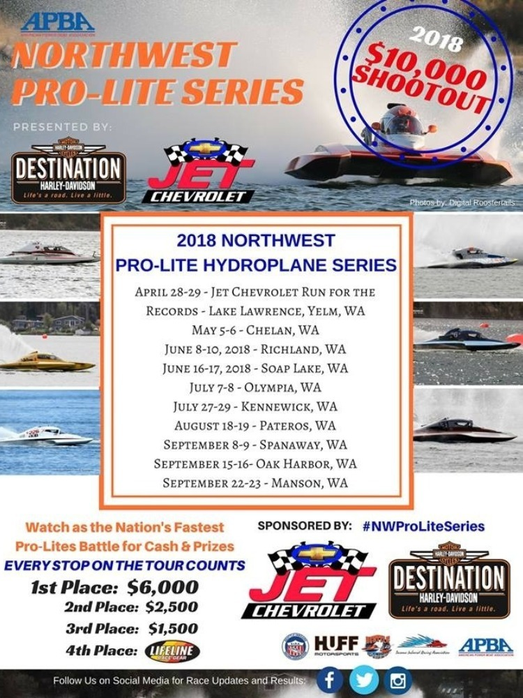 Apple Cup Regatta Pro-Lite Shootout Scheduled for this