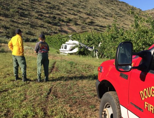 Pilot Uninjured in Helicopter Accident