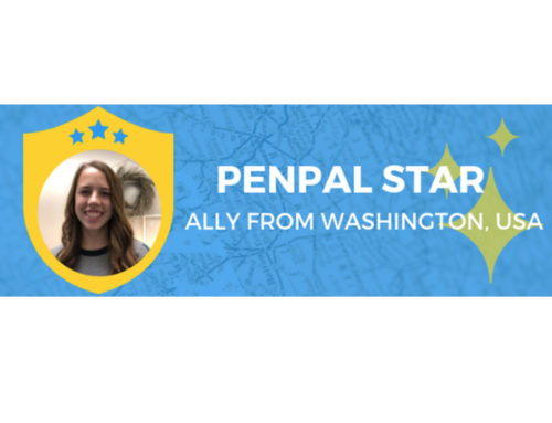 CHS Freshman Recognized as PenPal Star