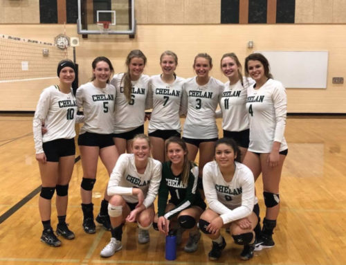 Chelan Battles Cascade in 5-set Match