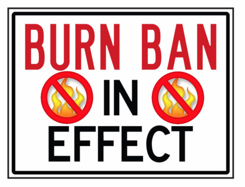 Burn Ban Goes Into Effect June 1st
