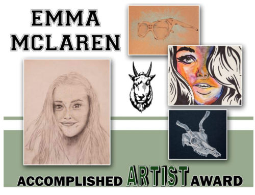 CMS and CHS Announce Accomplished Artist Awards