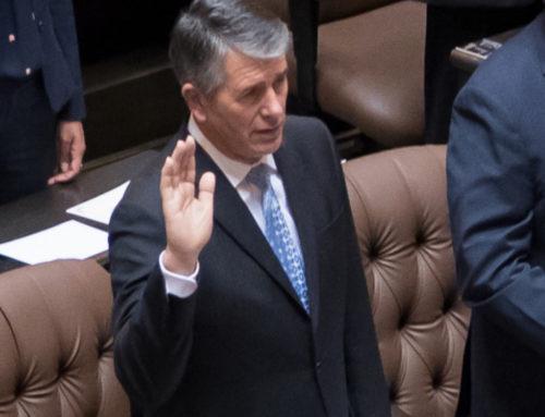 Representative Goehner Sworn Into Office