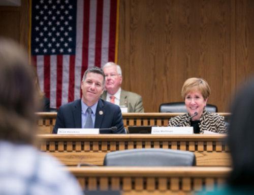 Senator Hawkins Re-Elected Deputy Floor Leader