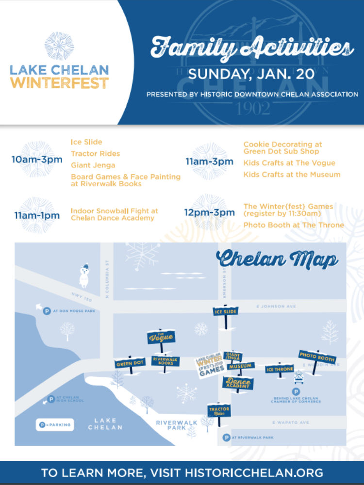 Let the Games Begin! - Lake Chelan News and Information