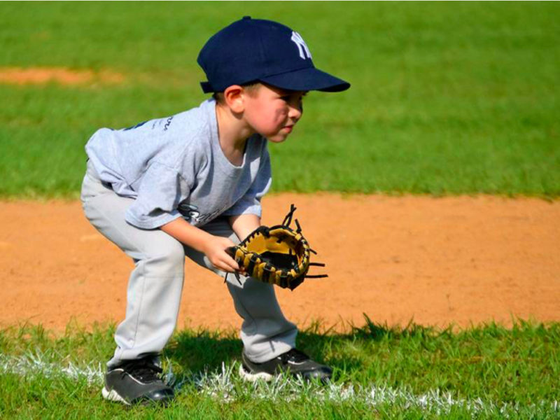 Photo of youth T-ball player