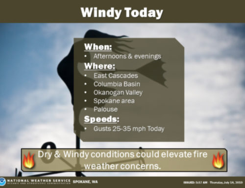 Critical Fire Weather Conditions Warning Issued for this Afternoon
