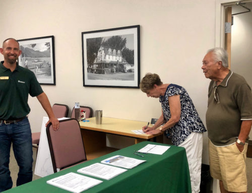 Small Turnout for DOT Rock Scaling Open House
