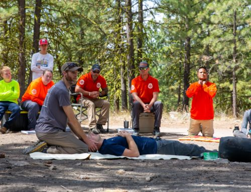 Chelan County Volunteer Search & Rescue Holds Field Training