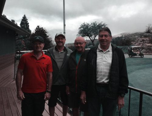 Men's Senior Golf Club Elects Officers