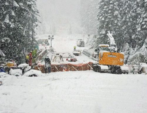 Stevens Pass Has First Snowstorm of the Season