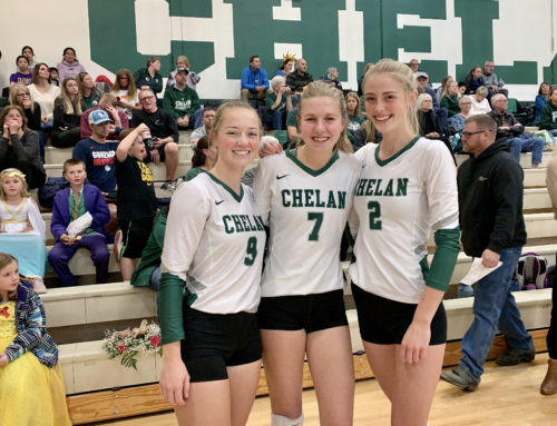 Chelan Well Represented at Senior All-State Volleyball