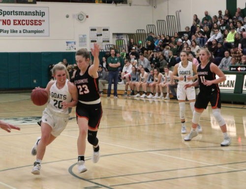 Cashmere Sweeps Chelan in League Play