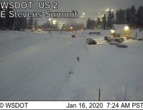 US-2, Stevens Pass Has Reopened