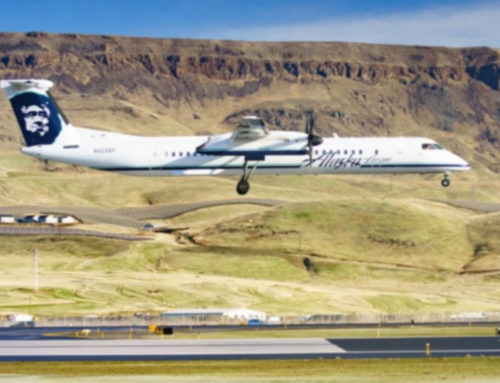 Pangborn Sets Passenger Record