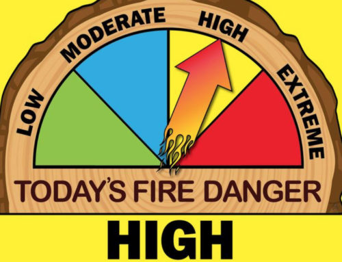 DNR Announces Burn Restrictions, Increased Fire Danger