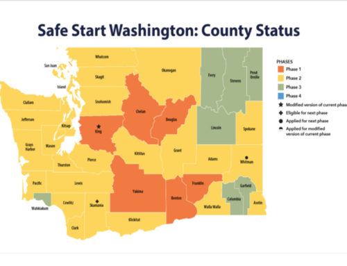 "14 Counties Move to ""Safe Start"" Phase 2 this Week"