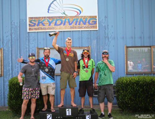Chelan Skydiver Wins Gold at Multi-Day Competition