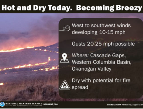 NWS Issues Urgent Fire Weather Message