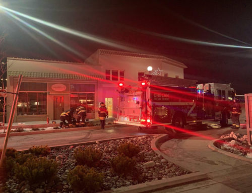 Fire at Campbell's Resort Quickly Extinguished