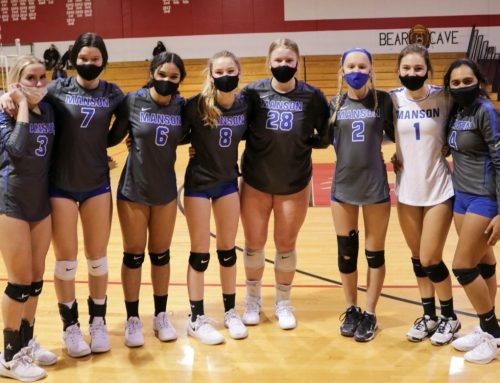 Manson Volleyball Kicks off their Season with 2 Wins