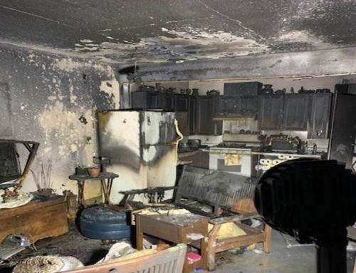 Resident Injured in Apartment Fire Friday Night