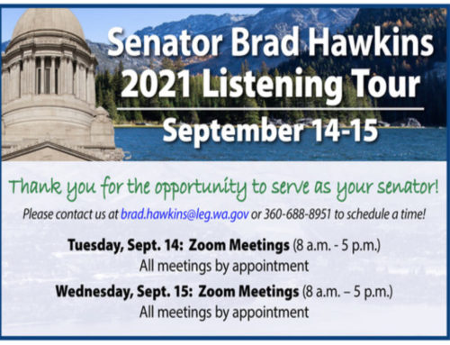 "Senator Hawkins Announces Upcoming ""Listening Tour"""